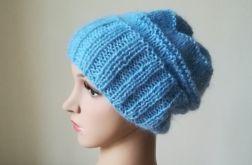 Nasycony błękit czapka