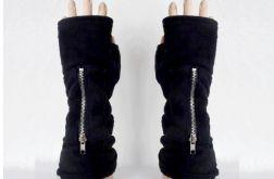 Rękawiczki , czarny polar