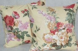 Poszewka - kwiatowe bukiety
