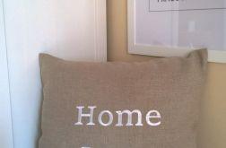 Poszewka lniana Home love