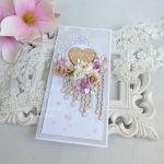 Ślubna kartka w pudełku 188 -