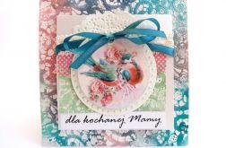 Kartka z ptaszkami dla mamy