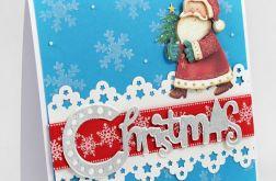 Mikołaj 3D kartka świąteczna KBN161