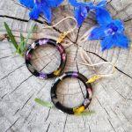 Pozłacane okrągłe kolczyki