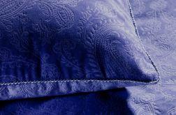 ekskluzywna pościel aksamitna Emma 160x200 fioletowa
