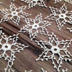 Świąteczne śnieżynki, gwiazdeczki