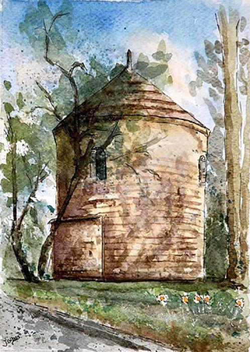 Rotunda średniowieczna 1