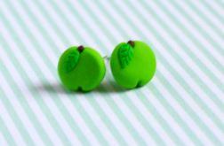 Zielone jabłuszka - sztyfty