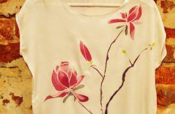 Bluzka jedwabna Magnolia