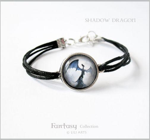Bransoletka - Shadow Dragon - Smok cienia