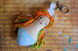 Brelok - Panna Ścinka - ręcznie malowana (1)