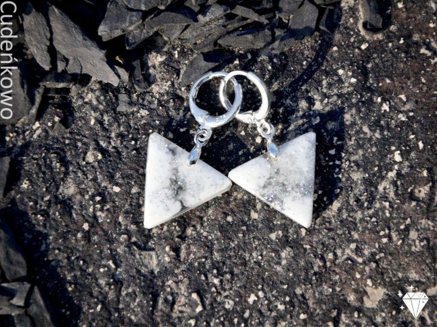 Zatopki trójkąty białe - 4