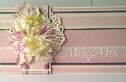 Kartka kopertówka ślubna duża