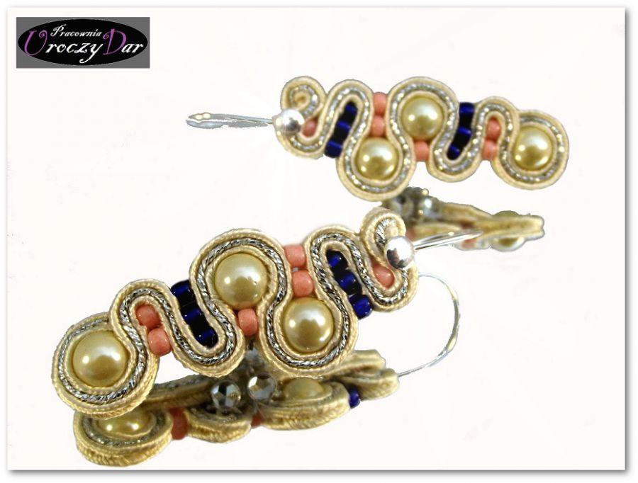 Kolczyki Diana z perłami majorka