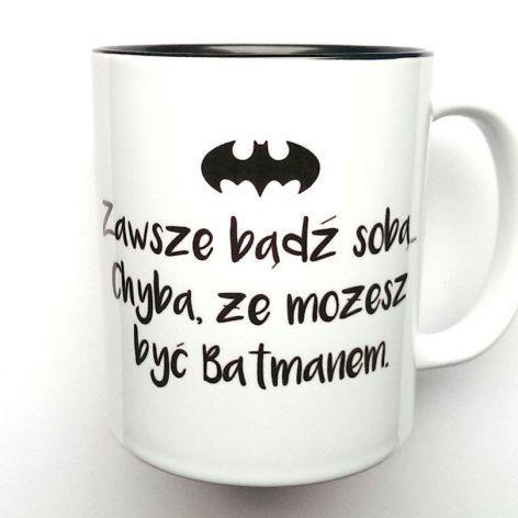 KUBEK BATMAN z CZARNYM WNĘTRZEM
