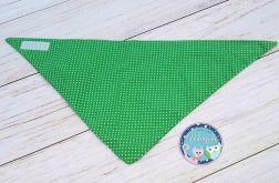 Apaszka chustka bandana - ciemna zieleń
