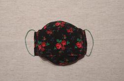 Dwuwarstwowa maseczka bawełniana wzór 1