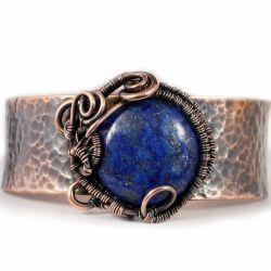 Lapis, Miedziana bransoletka z lapis lazuli
