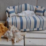 Kanapa w stylu marine - chustecznik - kanapa w stylu marine