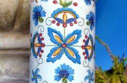 Butelka w hafty kaszubskie