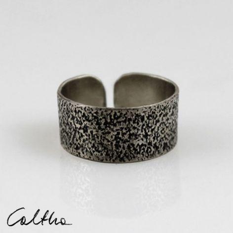Piasek - metalowa obrączka 130620-08