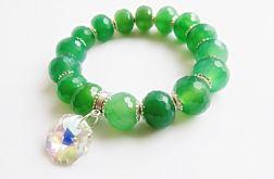 zielone agaty