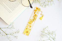 Zakładka do książki - żółta