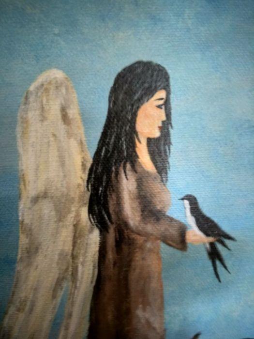 Anioł patron jaskółek