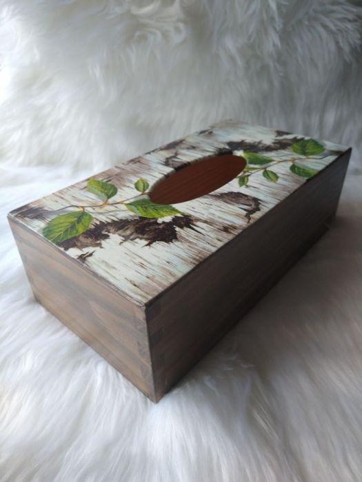chustecznik z korą brzozy
