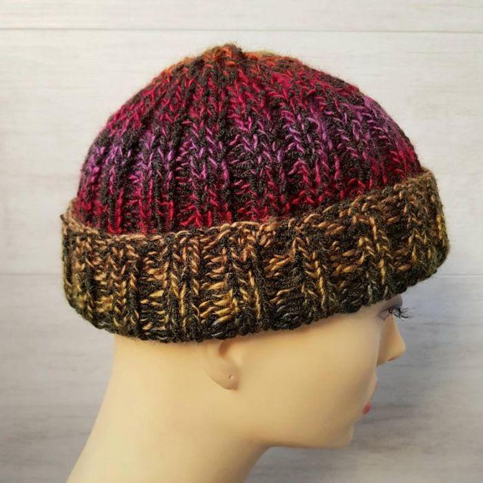 Kolorowa czapka dokerka