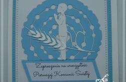 Zaproszenia komunijne dla chłopca KS-N01