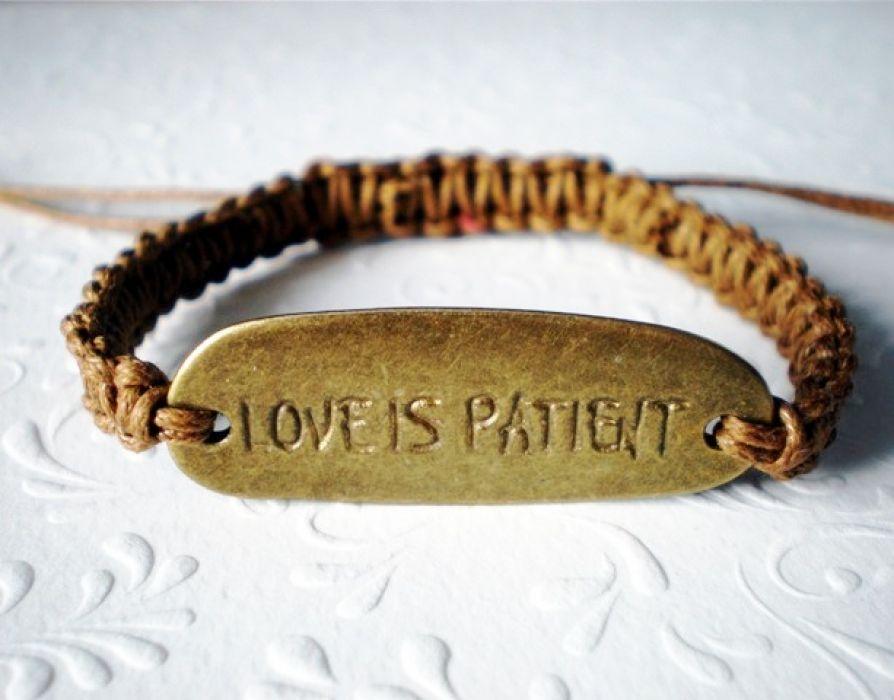 Miłość cierpliwa jest