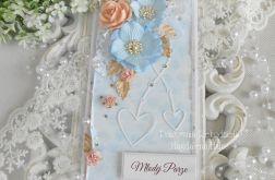 Ślubna kartka DL w pudełku z okienkiem 31
