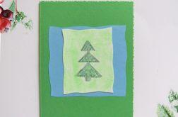 Kartka  świąteczna minimalizm 90