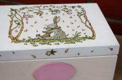Pudełko z króliczkiem