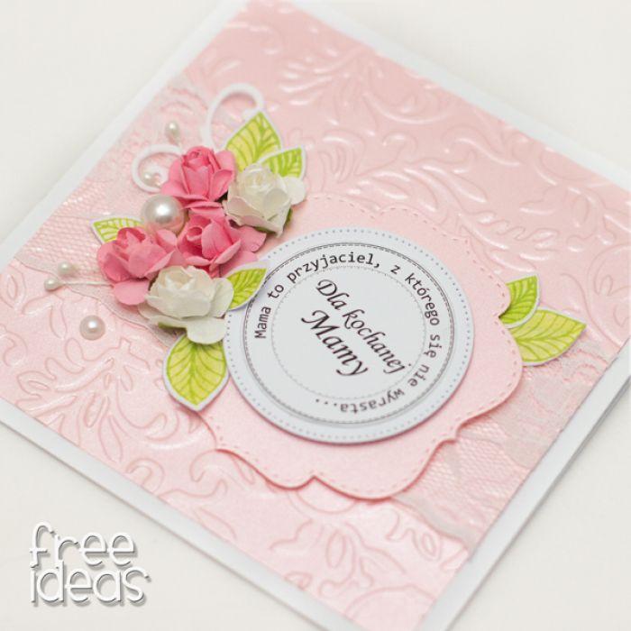 Perłowy róż na Dzień Matki - KDM19001