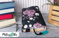 Otulacz / etui na książkę ~ romantyczne róże