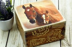 szkatułka- konie