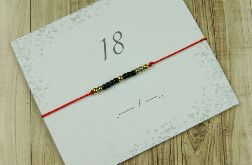 18 Bransoletka Lucky number Morse Code