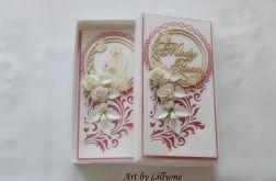 Kartka na ślub w pudełku # ś13