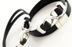 Dla zakochanych :) INFINITY 2 bransoletki