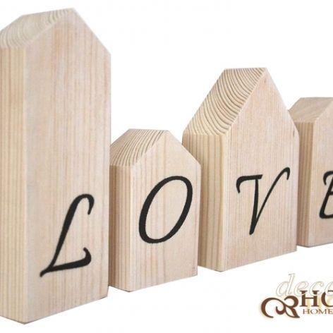 Drewniane domki LOVE