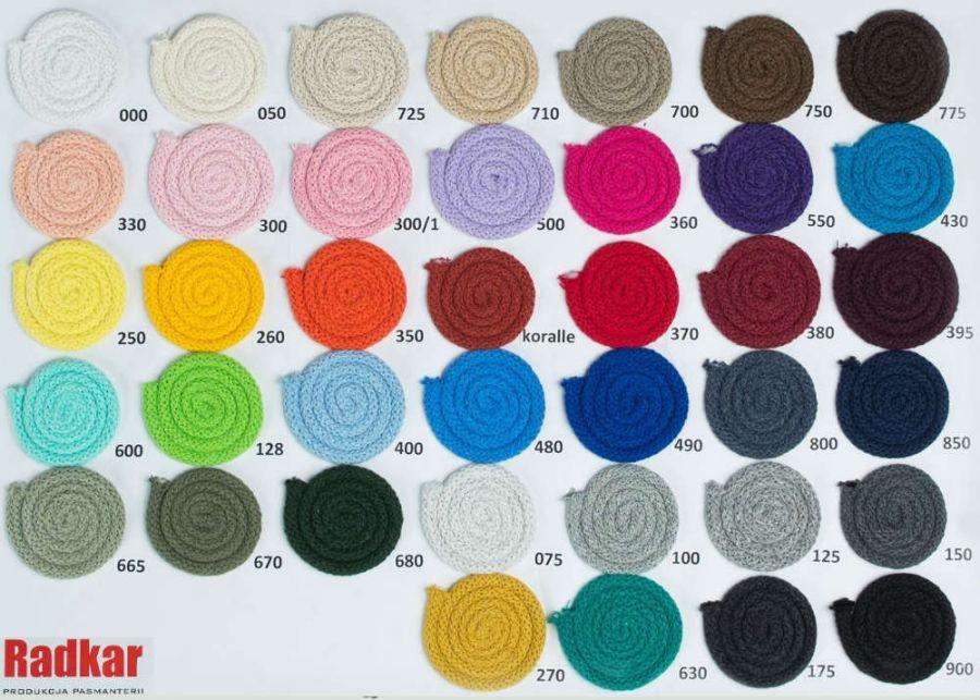 Koszyk ze sznurka Serce - Wybierz kolor :)