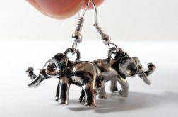 Kolczyki zawieszki 059 słonie