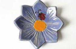 Podstawka ceramiczna kwiat 12