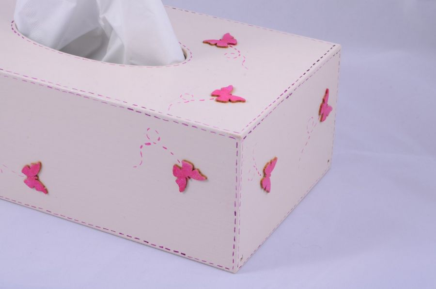 Chustecznik  - motylki -