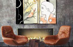 Kobieta w oknie... art print