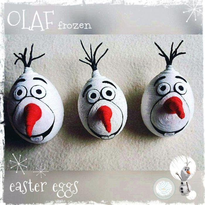 Pisanki OLAF/Frozen/Kraina Lodu