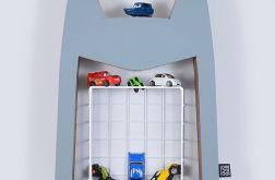 Półka na książki zabawki HERO | szary