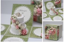Box tort 2 ślubny
